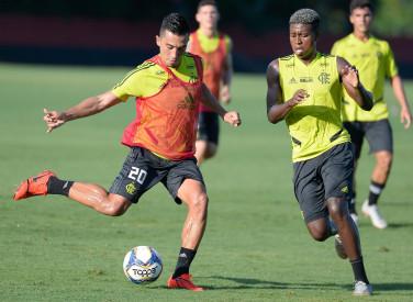 Treino Flamengo  CT - 14-03-2019