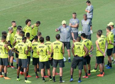 Treino Flamengo CT - 18-03-2019