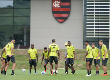 Treino CT Flamengo - 23-03-2019