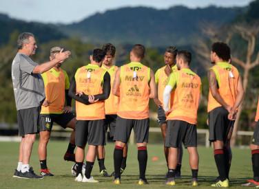 Treino CT Flamengo - 01-04-2019