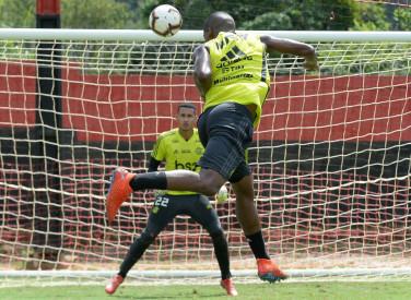Treino CT Flamengo - 10-04-2019