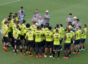 Treino CT Flamengo - 18-04-2019