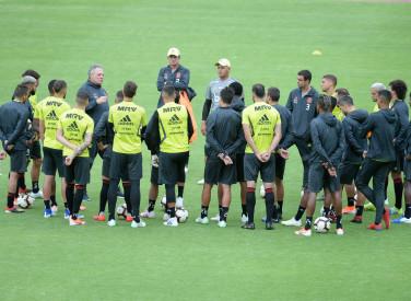 Treino Flamengo em Quito - 23-04-2019