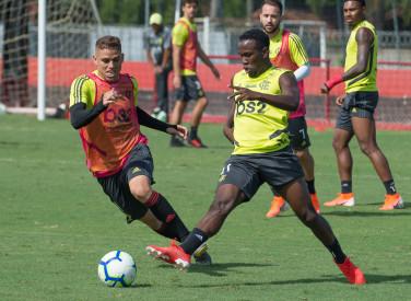 Treino CT Flamengo - 25-05-2019