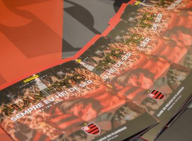 Flamengo lança álbum de figurinhas na Gávea - 01-06-2019