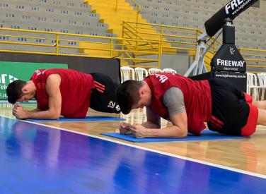 Treino do basquete - 07/06/2019