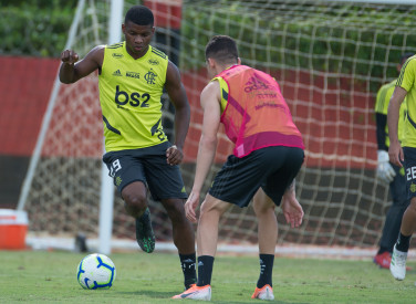 Treino CT Flamengo - 08-06-2019