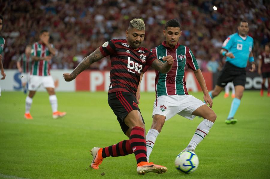 Crédito da foto: Reprodução/Alexandre Vidal/Flamengo / Rubro-negro ficou no empate no clássico carioca