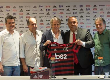 Apresentação Jorge Jesus no CT do Flamengo - 10-06-2019