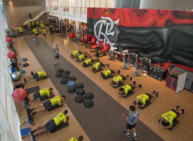 Treino CT Flamengo - 05-07-2019