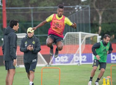 Treino CT Flamengo - 06-07-2019
