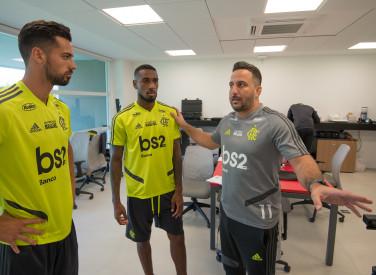 Treino CT Flamengo - 15-07-2019