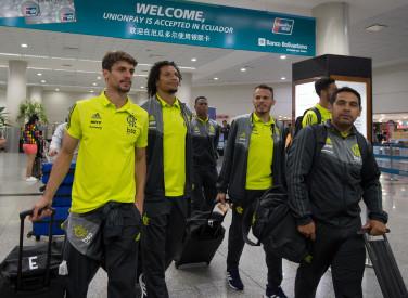 Desembarque em Guaiaquil Equador - 22-07-2019