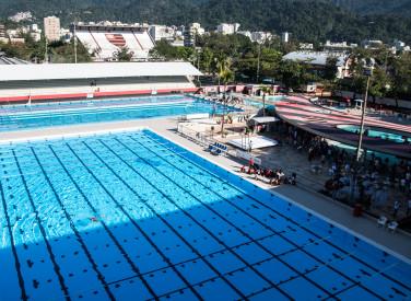 Inauguração da piscina olímpica Rômulo Duncan Arantes - 27/07/2019