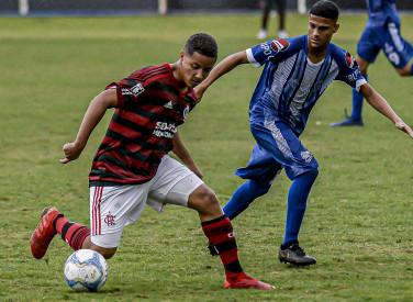 Flamengo x Goytacaz - Taca Rio Sub-17 - 03-08-2019