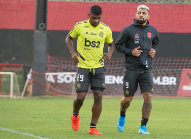 Treino CT Flamengo - 06-08-2019