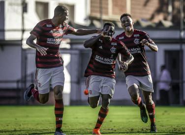 Flamengo x Ponte Preta - Campeonato Brasileiro Sub-20 - 07-08-2019