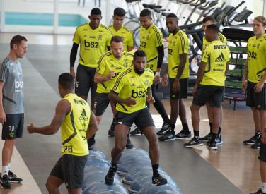 Treino CT Flamengo - 08-08-2019