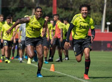 Treino CT Flamengo - 09-08-2019