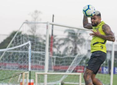 Treino CT Flamengo - 12-08-2019