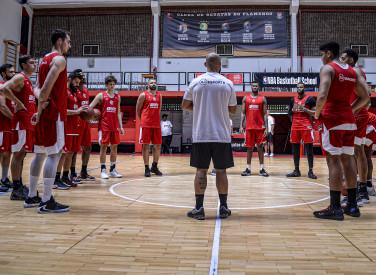 Treino de Basquete na Gávea - 29-08-2019