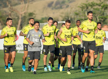 Treino CT Flamengo - 30-08-2019