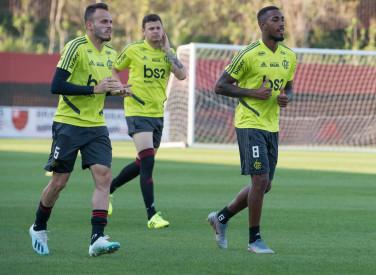 Treino CT Flamengo - 09-09-2019