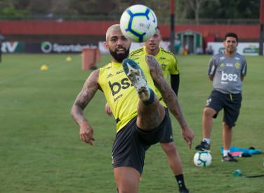 Treino CT Flamengo - 16-09-2019