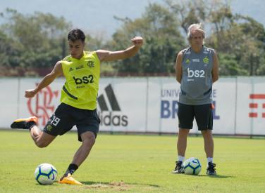 Treino CT Flamengo - 18-09-2019