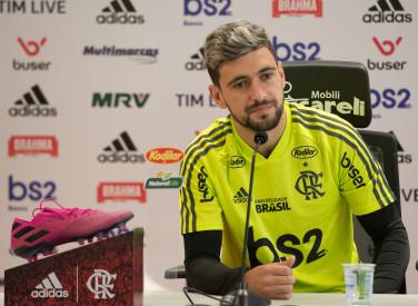 Treino CT Flamengo - 24-09-2019