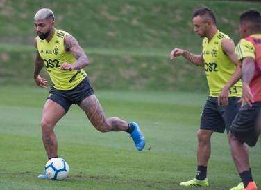 Treino CT Flamengo - 27-09-2019