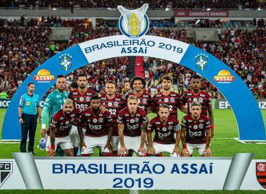 Flamengo X São Paulo - Campeonato Brasileiro 2019 - 28-09-2019