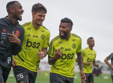 Treino CT Flamengo  - 08-10-2019