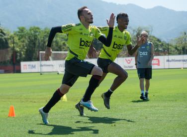 Treino CT Flamengo - 12-10-2019