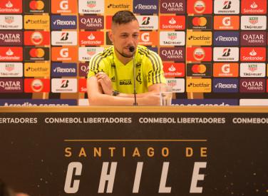 Coletiva Conmebol Libertadores Diego Alves - 21-10-2019