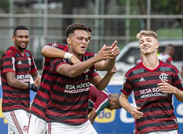 Flamengo x Fluminense -Campeonato Brasileiro Sub-20 - 30-10-2019