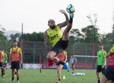 Treino CT Flamengo - 05-11-2019