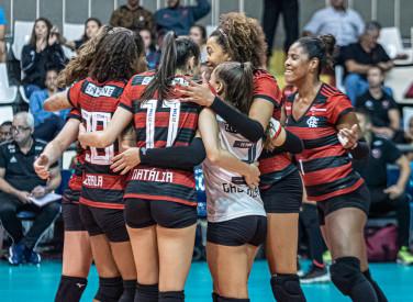 FlaVôlei - Flamengo x Minas - SuperLiga Feminina - 12-11-2019