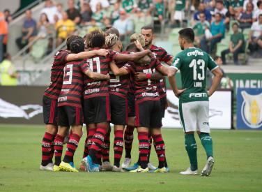 Flamengo X Palmeiras - Brasileiro - 01-12-2019