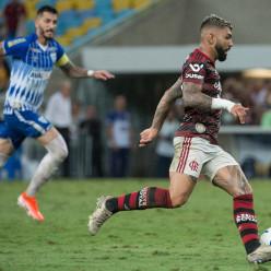 Alexandre Vidal, Marcelo Cortes e Paula Reis / Flamengo