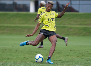 Treino CT Flamengo - 06-12-2019