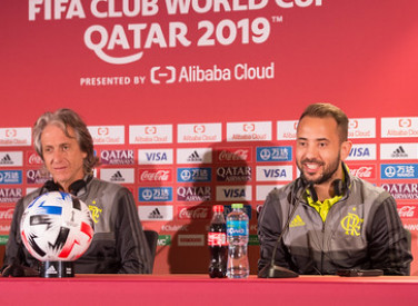 Coletiva FIFA - Mister e Everton Ribeiro - 20-12-2019