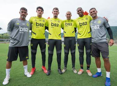 Treino CT Flamengo - 08-01-2020