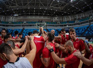 Treino do Basquete - Arena Carioca 1 - 10-01-2020