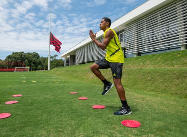 Preparação física Gustavo Henrique e Pedro Rocha - 14-01-2020