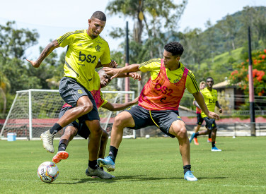 Treino CT Flamengo - 16-01-2020