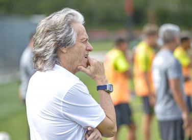 Mister acompanha treino da equipe que disputa Taça Guanabara - 21-01-2020