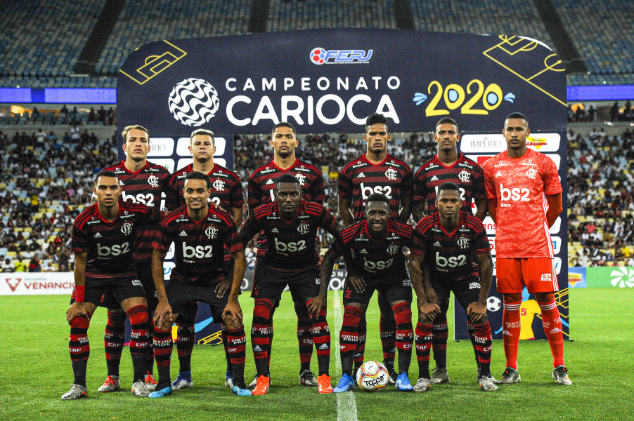 Flamengo X Vasco Campeonato Carioca 22 01 2020 Flamengo