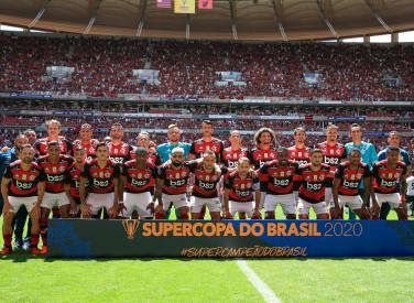 Flamengo X Athletico PR - Final da Supercopa do Brasil - 16-02-2020