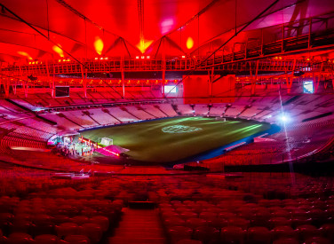 Live do Flamengo no Maracanã - 14-06-2020
